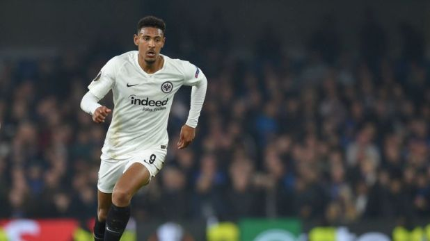 Sebastian Haller is close to joining West Ham