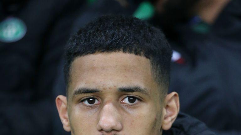 Saliba made 19 appearances for St Etienne last season