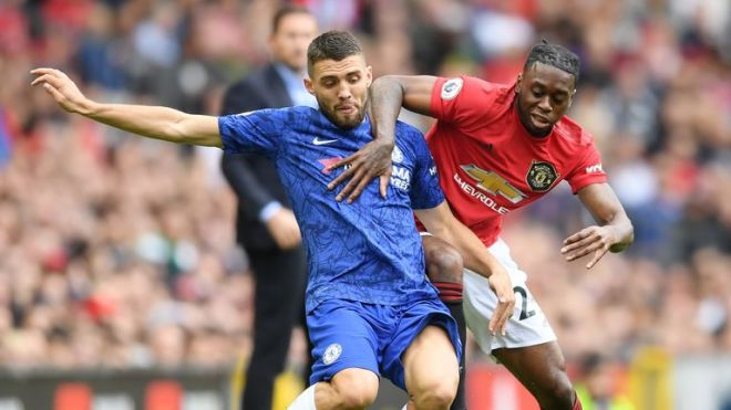 Aaron Wan-Bissaka impressed on his Premier League debut for United