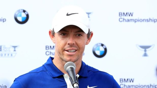 Rory McIlroy is chasing a third win of the season at the BMW Championship