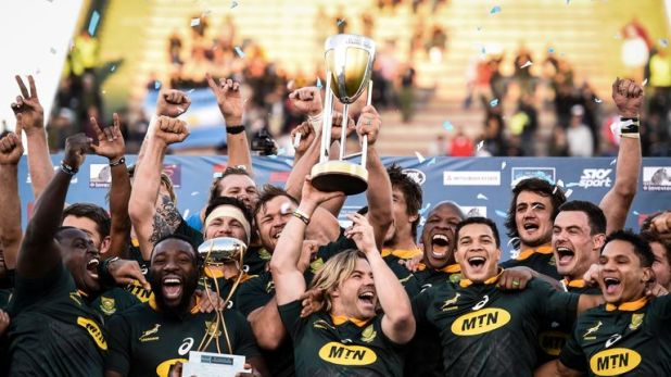 South Africa were unbeaten in this year's Rugby Championship