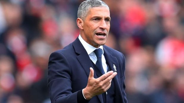 Hughton was sacked by Brighton in May