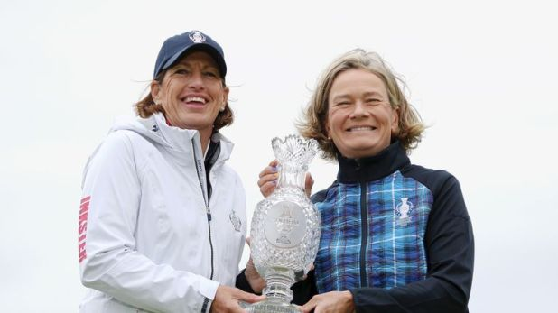 Juli Inkster and Catriona Matthew revealed some surprises in their opening matches