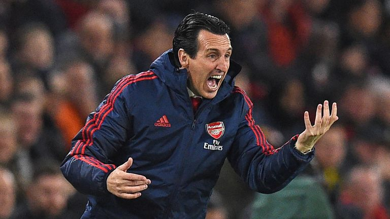Thursday's Europa League win has lifted some pressure off Emery