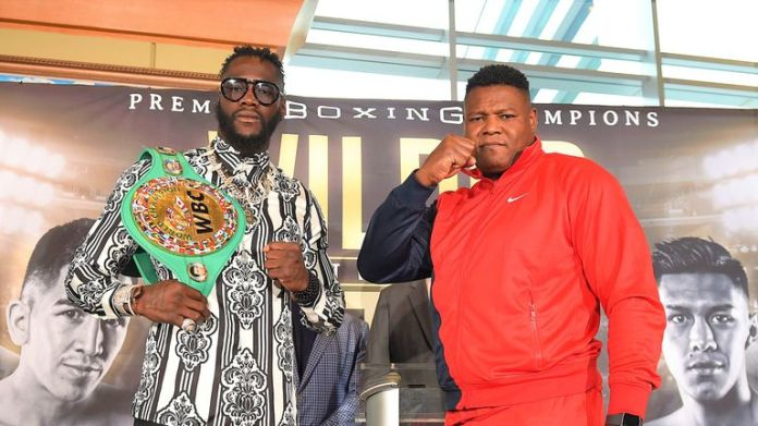 Deontay Wilder meets Luis Ortiz at the Las Vegas rematch next month