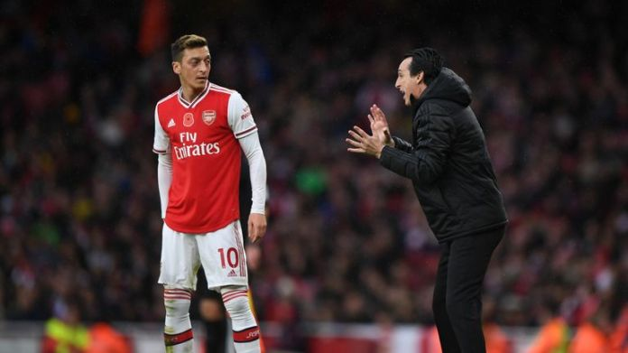 Ozil only made one appearance in the season's first 10 Premier League games