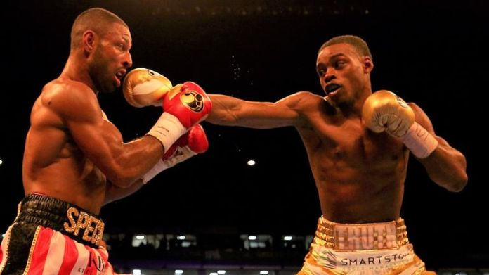 Crawford's rival Spence Jr defeated Brook