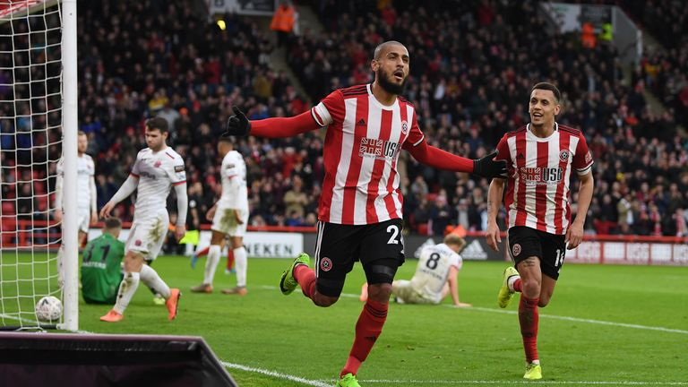 Sheffield United have won seven of their first 21 Premier League games this season