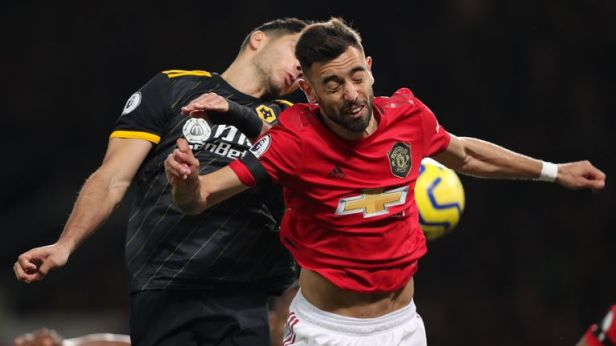 Bruno Fernandes made a promising start to his Man Utd debut against Wolves