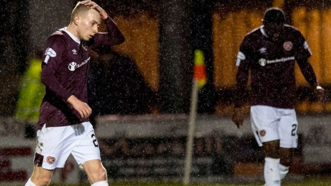 Hearts are relegated for the second time in six years