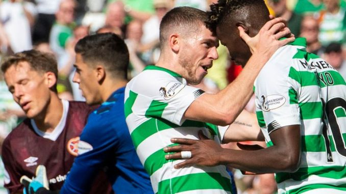 Celtic held a 13-point lead over Rangers when the season was suspended