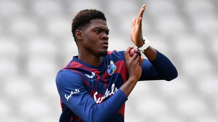 Joseph był pod wrażeniem wewnętrznej rozgrzewki West Indies na Emirates Old Trafford w zeszłym tygodniu