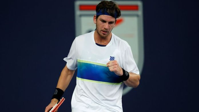 Cameron Norrie was pushed all the way by Ryan Peniston