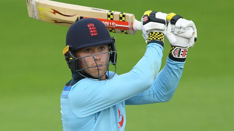 Salt hit 14 fours and two sixes in his hundred for England Lions against Ireland in July