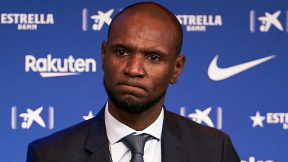 Eric Abidal spent two years as Barcelona sporting director