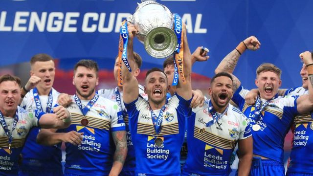 Luke Gale played a prominent role in Leeds' 2020 Challenge Cup success