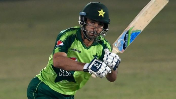 Khushdil Shah hit three sixes and as many fours in his 33 not out from 15 deliveries