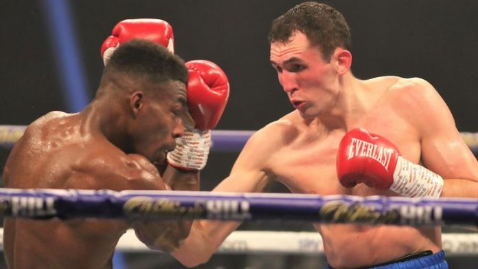 Thomas Whittaker-Hart beat Jermaine Springer in opening fight on the bill