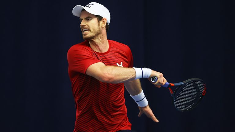 Murray will now step up his preparations for the start of the new season