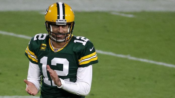 Aaron Rodgers of the Green Bay Packers is in contention for the league MVP award in 2020