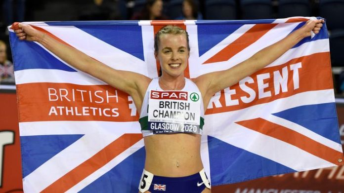 Keely Hodgkinson is one of the rising stars of British athletics