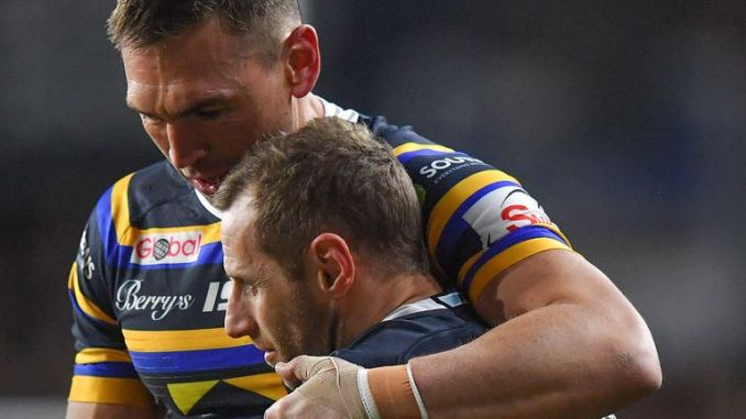 Kevin Sinfield (left) was inspired by former Leeds Rhinos teammate Rob Burrow to raise money to help those diagnosed with MND