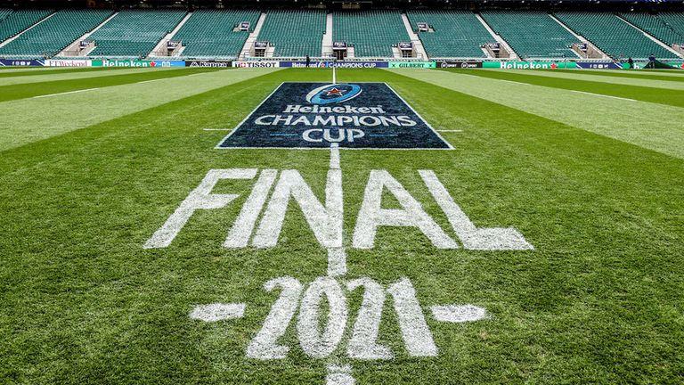 Twickenham played host to the 2021 Heineken Champions Cup final