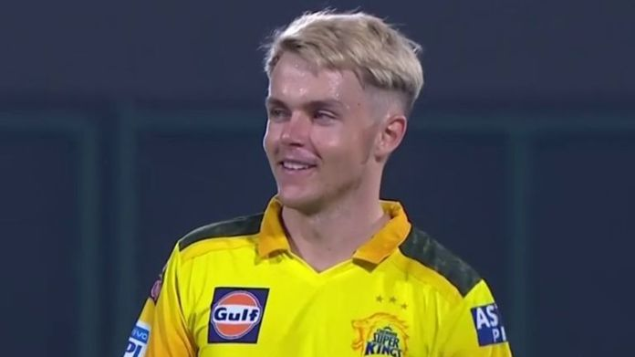 England's Sam Curran took nine wickets for CSK before the season was suspended