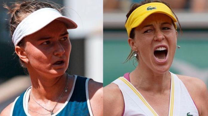 Either Barbora Krejcikova or Anastasia Pavlyuchenkova will win a first singles Grand Slam title on Saturday in Paris
