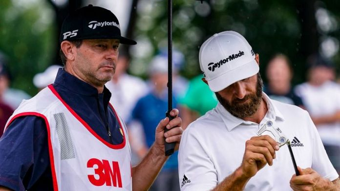 Dustin Johnson was unable to reach the weekend at the 3M Open