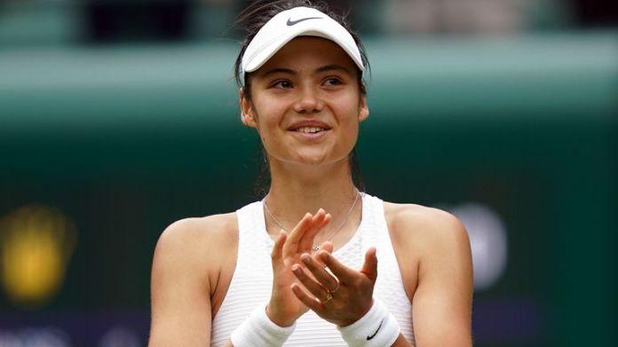 Emma Raducanu reached the fourth round at Wimbledon