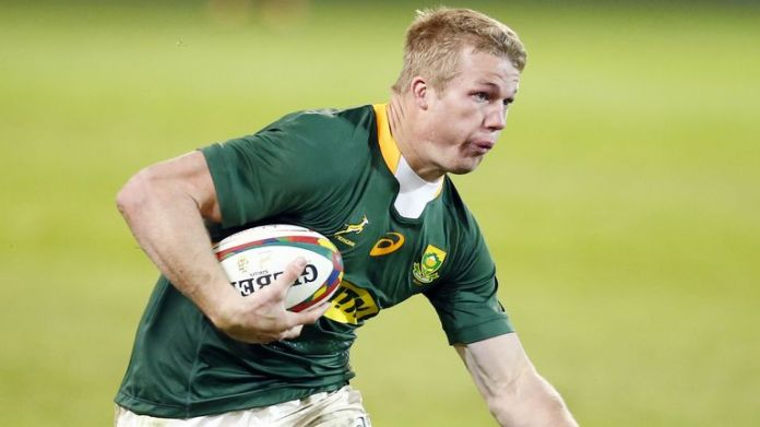 Springbok flanker Pieter-Steph du Toit looks set to miss out on the third Test due to a shoulder injury