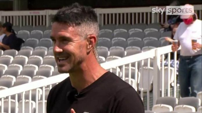 In a fascinating demo, Pietersen offers some top batting tips for kids, including how to play on the leg-side, where to place your feet, and how to grip the bat