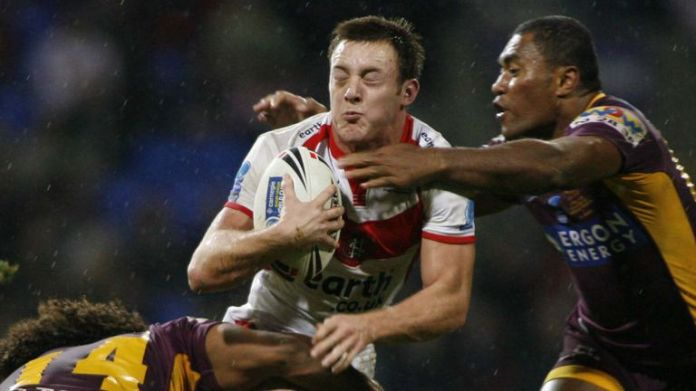 James Roby helped St Helens defeat Brisbane Broncos in the 2007 World Club Challenge