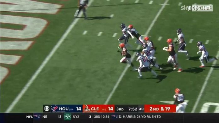 Cleveland Browns running back Demetric Felton's first NFL TD wass absolutely electric.