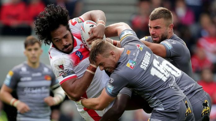 St Helens and Catalans face off in a top-of-the-table clash at Magic Weekend