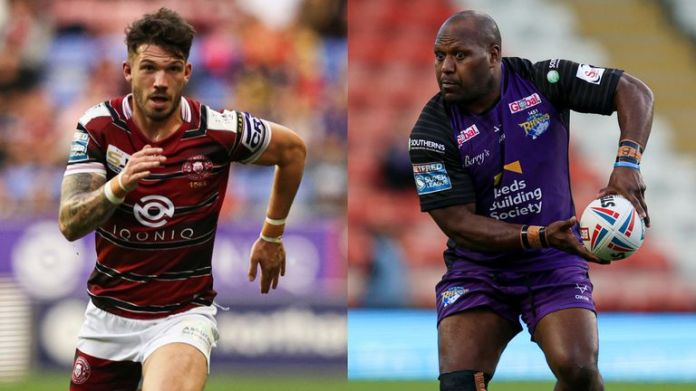 Departing players Oliver Gildart at Wigan and Rob Lui at Leeds spoke to media this week ahead of Thursday's Super League playoff