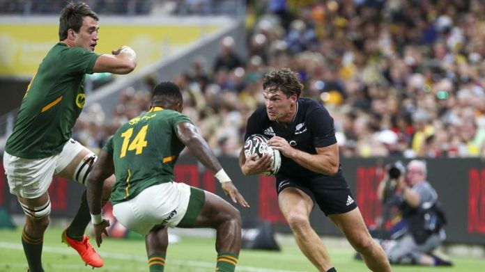 New Zealand secured a last-minute victory over South Africa in their Rugby Championship clash