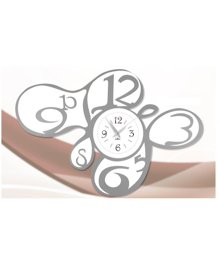 Consegna rapida e ritiro al. Orologio Da Parete Moderno Grigio E Bianco E20 D Arredo Idee Arredamento A Giardini Naxos