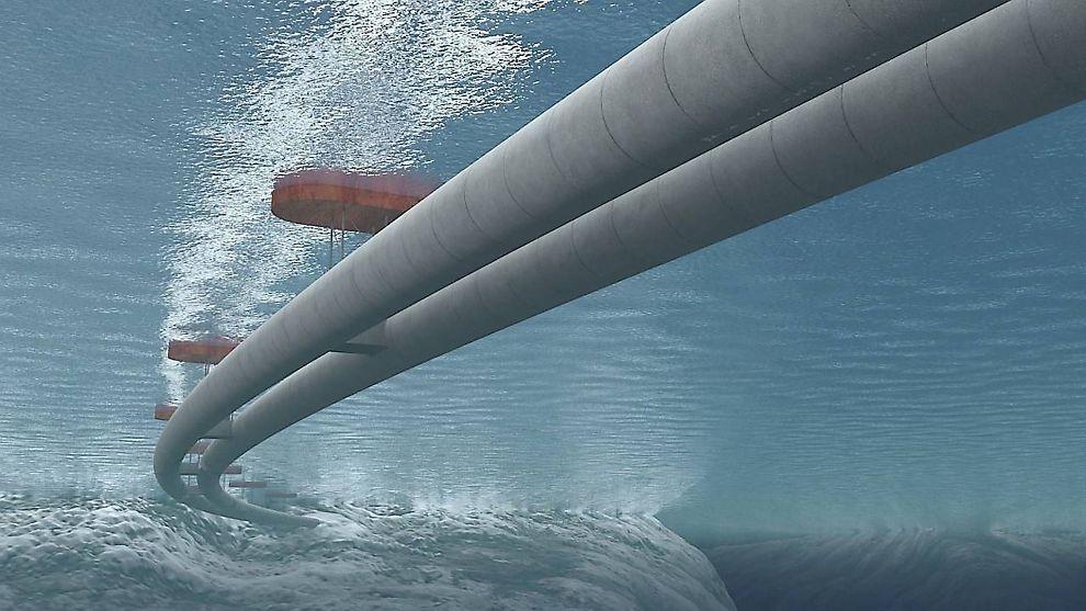 <b>NY LØSNING?</b> Rørbroer kan bli en av løsningene for å krysse brede og dype vestlandsfjorder.