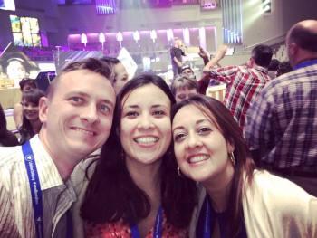 Timothy Tartiny, Sharie Martiny, Sandrie Alvarado at CAFO 2016