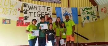 Summer camp, La Mission, 2016 for Fundaninos children in Guatemala