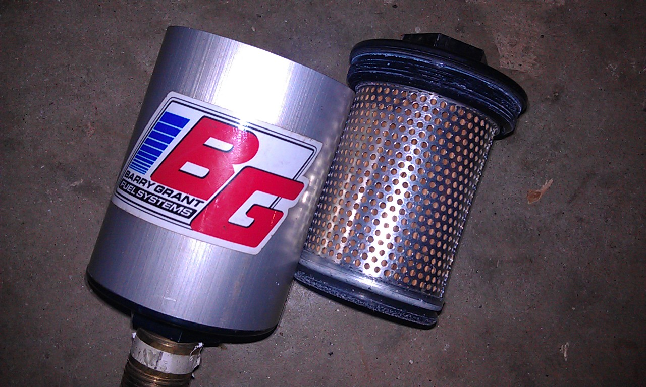 hight resolution of fs wot bg fuel filter msd 2 step