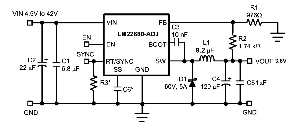 [Resolved] LM2596/LM2676/LM22680 X GPRS Power Supply