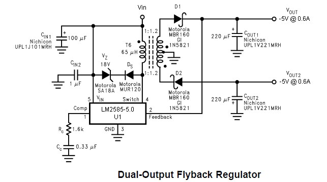 LM 7805 and LM 7905 Can I create +/-5V 1A supply using
