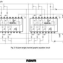 Audio Spectrum Analyzer Circuit Diagram Wiring For 7 Way Blade Plug 5 Band Graphic Equalizer Using La3600 Integrated Resolved Ic Recommendations Led Project