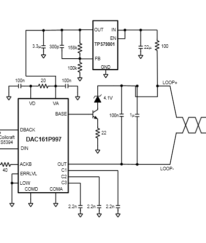 DAC161S997 Grounding and EVM Component Question