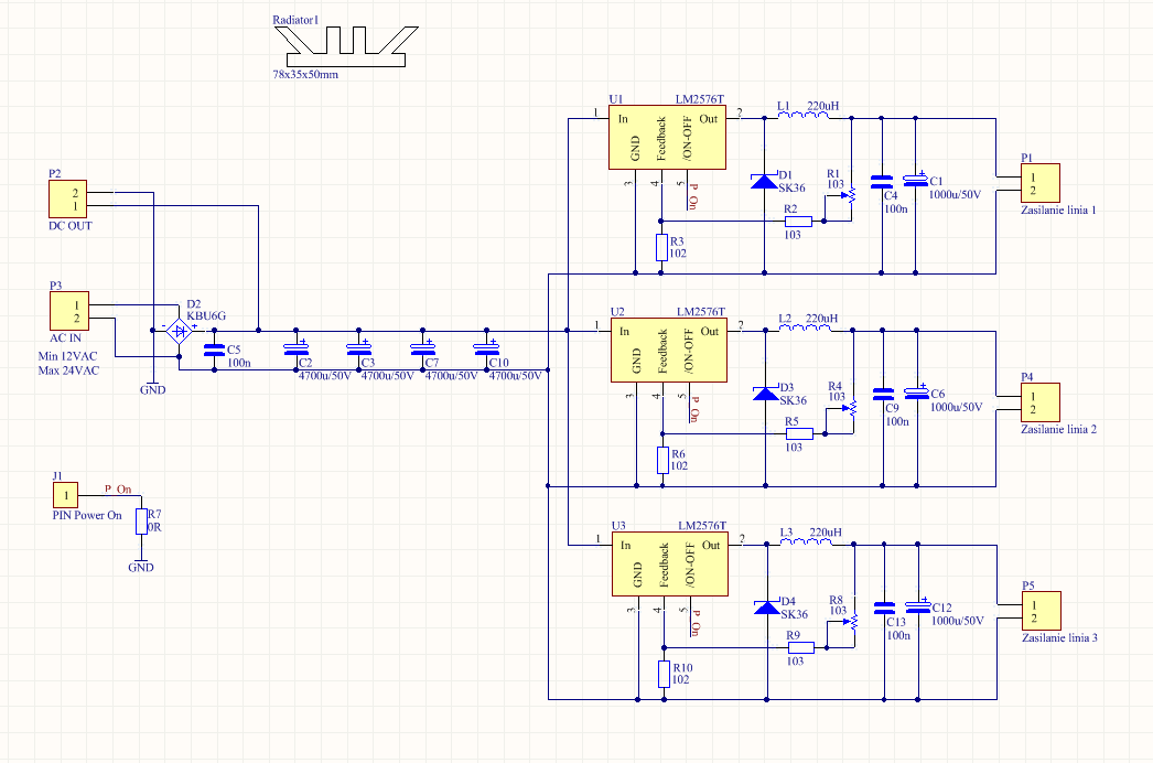 smps schematic diagram wiring ceiling fan amp light 3 way switch [resolved] lm2576/2596-adj noise problem - simple switcher® forum ti e2e ...