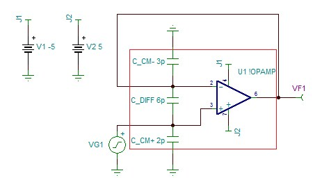 SPICE it up: How to extract the input capacitance of an op amp (part 3) - Analog - Technical articles - TI E2E support forums