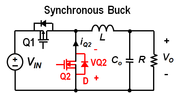Input and output capacitor considerations in a synchronous